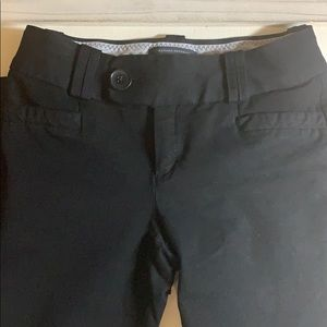 Banana Republic Black Trouser No. 333 Martin Fit
